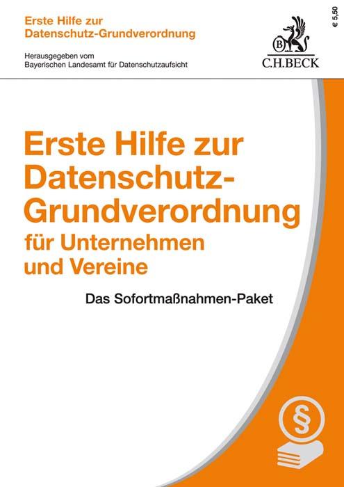 herausgegeben vom bayerischen landesamt fr datenschutzaufsicht bearbeitet von thomas kranig prsident des bayerischen landesamtes fr datenschutzaufsicht - Datenschutzerklarung Muster